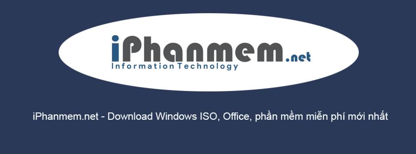 Cover iphanmem.net - chuyên trang download windows, office, ứng dụng dành cho máy tính