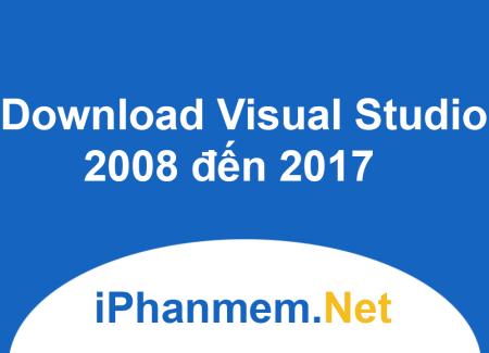 Download Microsoft Visual Studio mọi phiên bản có CDkey link từ trang chủ