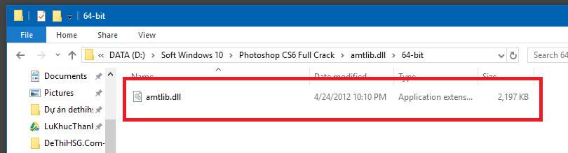 File Active Photoshop CS6 64 bit