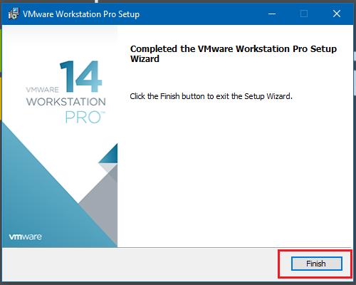 Hướng dẫn cài đặt máy ảo VMware Workstation pro 14 bằng hình ảnh - Hình 10