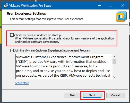 Hướng dẫn cài đặt máy ảo VMware Workstation pro 14 bằng hình ảnh - Hình 4