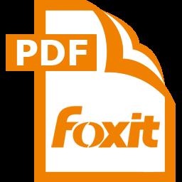 Lo go phần mềm đọc file PDF miễn phí Foxit Reader