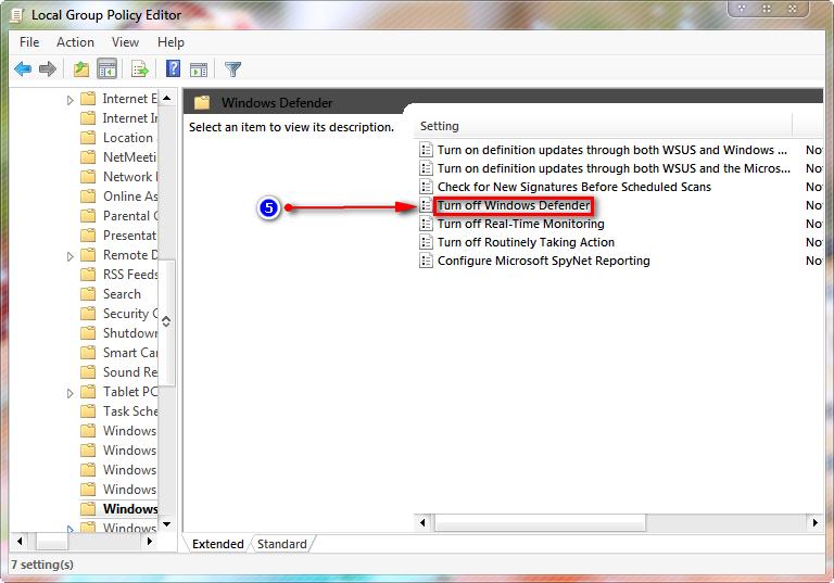 Hướng dẫn các bạn cách tắt Windows Defender trên windows 8/10 -5