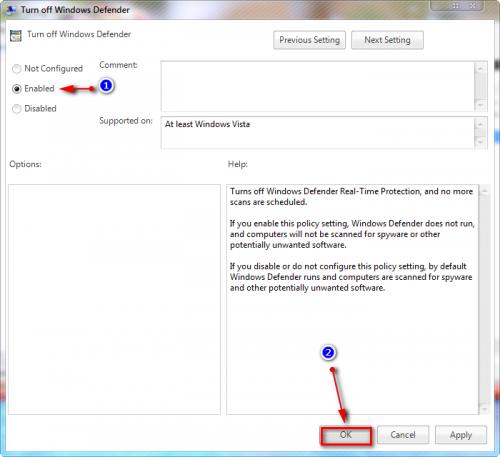 Hướng dẫn các bạn cách tắt Windows Defender trên windows 8/10 -6