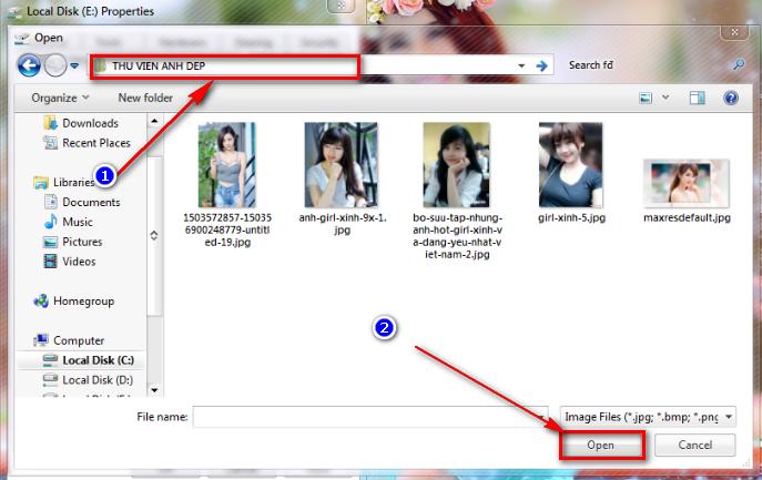 Hướng dẫn cách tạo hình nền cho Folder trên Windows 7/8/10 - 7