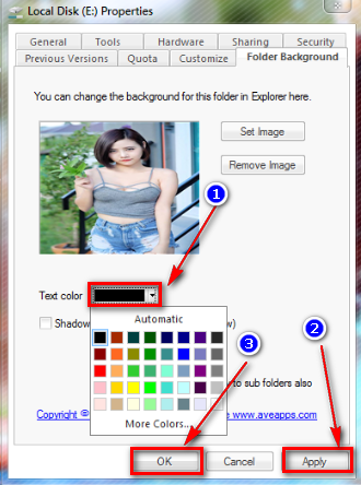 Hướng dẫn cách tạo hình nền cho Folder trên Windows 7/8/10 - 8