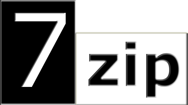 Lo go phần mềm giải nén tốt nhất 7-Zip
