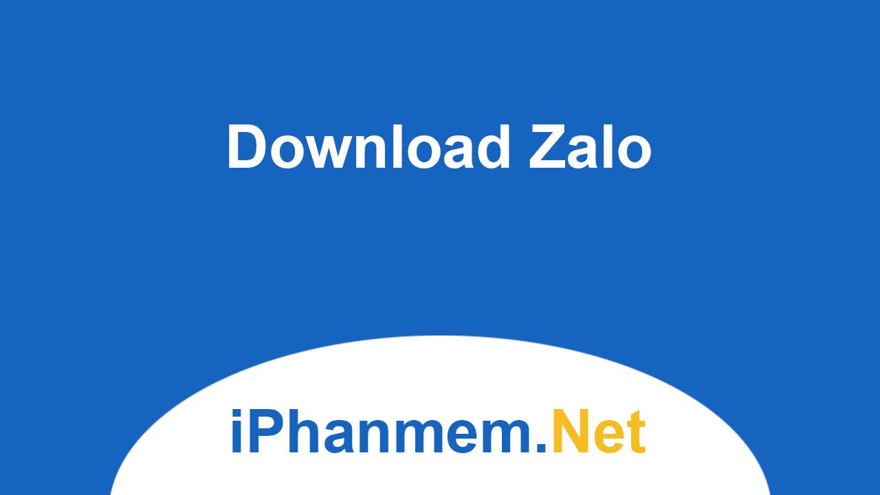 Download Zalo cho máy tính