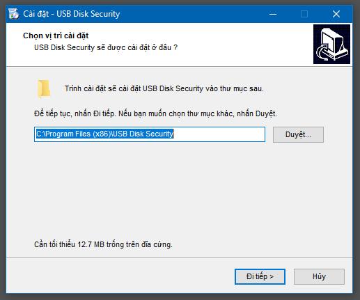 Hướng dẫn cài đặt USB Disk Security - 2