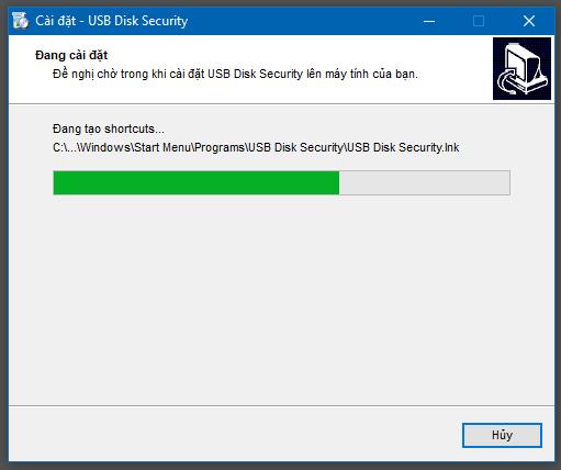 Hướng dẫn cài đặt USB Disk Security - 6