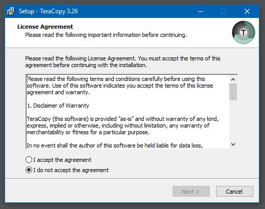 Hướng dẫn cài đặt TeraCopy Pro - 1