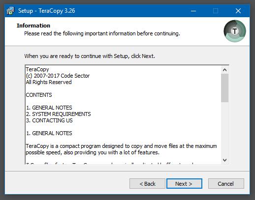 Hướng dẫn cài đặt TeraCopy Pro - 2
