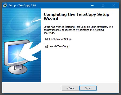 Hướng dẫn cài đặt TeraCopy Pro - 7