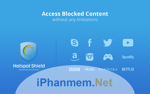 Download phần mềm Hotspot Shield VPN Free