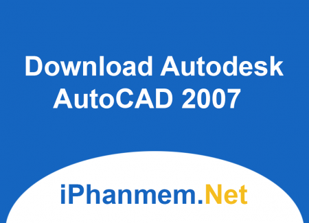 Download Autodesk AutoCAD 2007