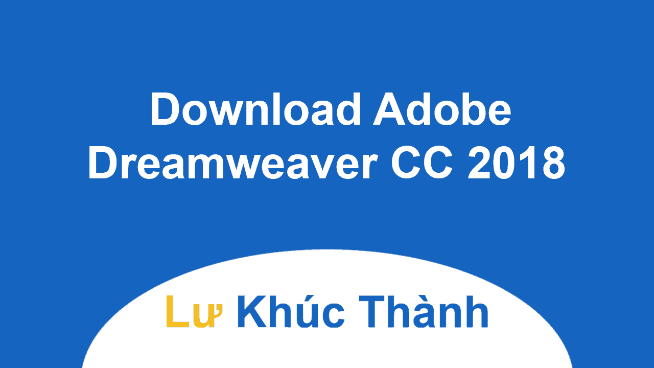 Download Adobe Dreamweaver CC