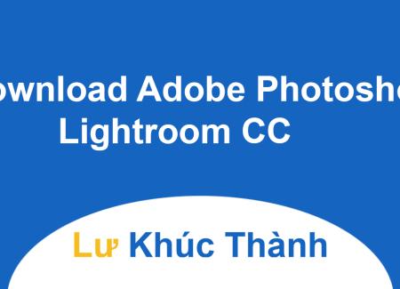 Download Adobe Photoshop Lightroom CC