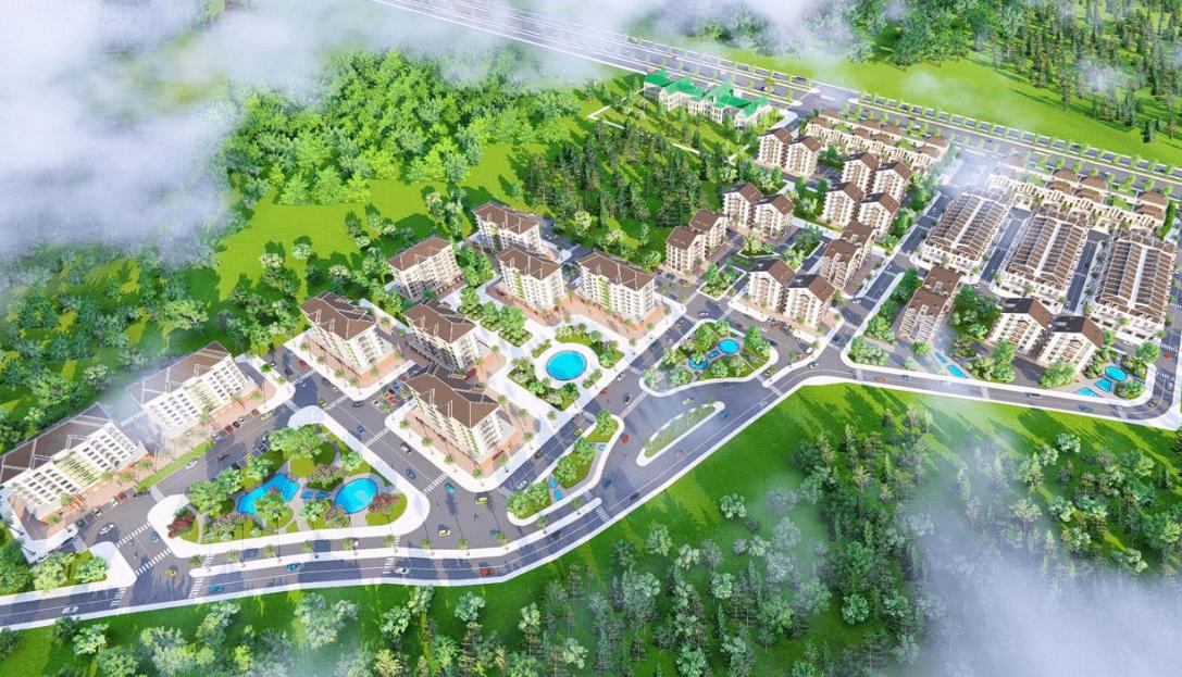 Khu dân cư Cát Tường Phú Hưng nhìn từ trên cao