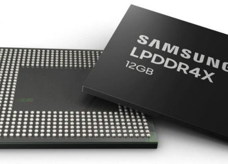 Samsung bắt đầu sản xuất hàng loạt RAM 12GB LPDDR4X cho smartphone