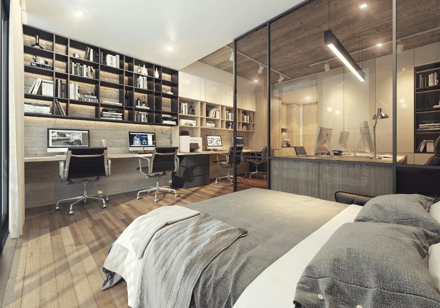 Mẫu nội thất căn hộ dự án The Signial