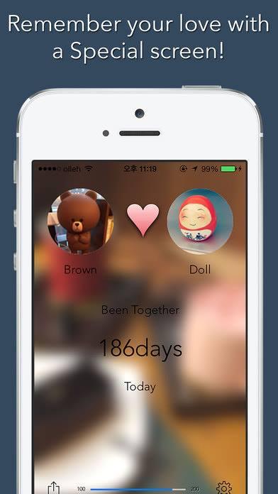 Top 3 ứng dụng đếm ngày yêu trên IOS & Android