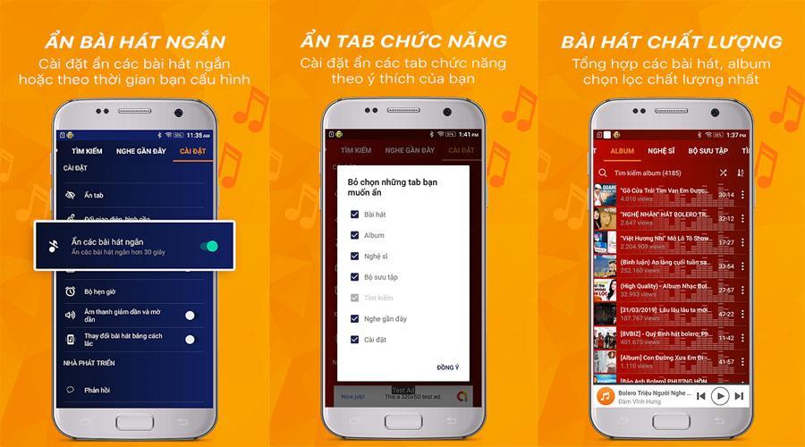 Download Ứng dụng nghe Nhạc Vàng Bolero, Trữ tình