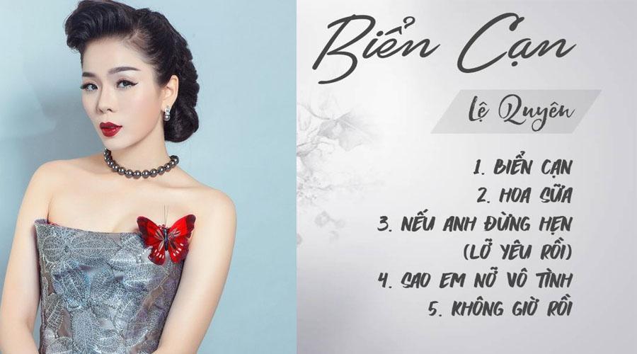 Album tình khúc yêu thương của Lệ Quyên phát hành 2012
