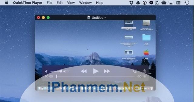 Dùng QuickTime Player để thực hiện ghi âm trên Macbook