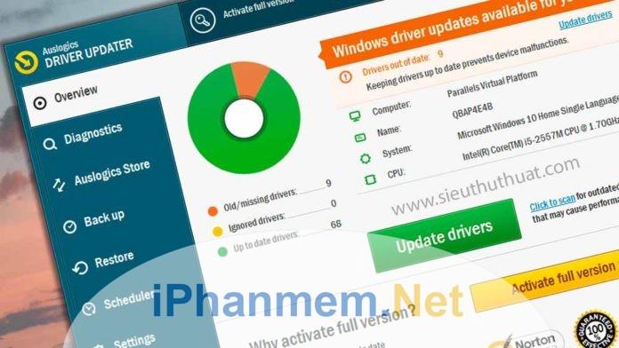 Top những phần mềm cập nhật Driver cho máy tính tốt nhất