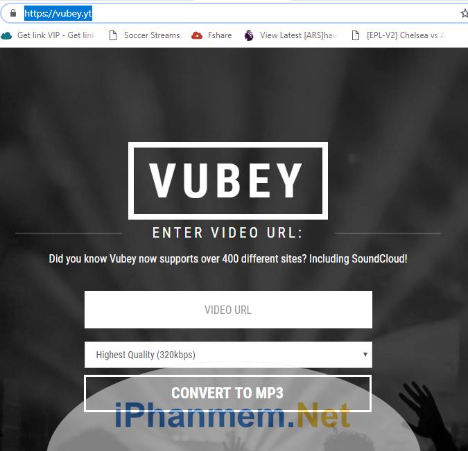 Vubey là website trực tuyến giúp bạn chuyển video Youtube sang nhạc MP3 nhanh chóng