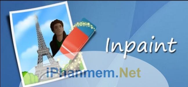 Hướng dẫn sử dụng phần mềm Inpaint xóa chi tiết thừa