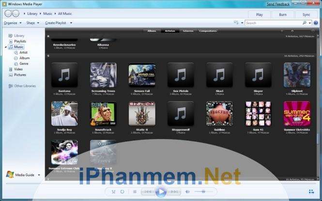 Cách tạo danh sách phát nhạc tự động trong Windows Media Player