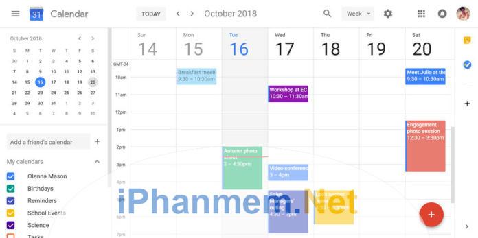 Làm thế nào để đồng bộ Google calendar và Windows calendar