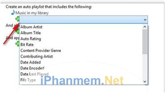 Thêm nhiều tiêu chí phát nhạc