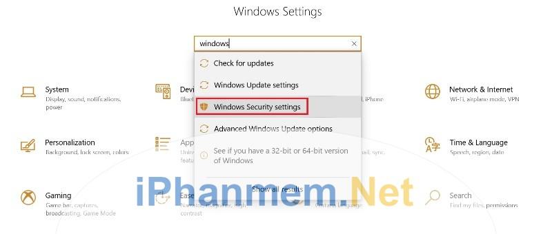 Windows Security có chức năng bảo vệ máy tính của bạn trước Ransomware