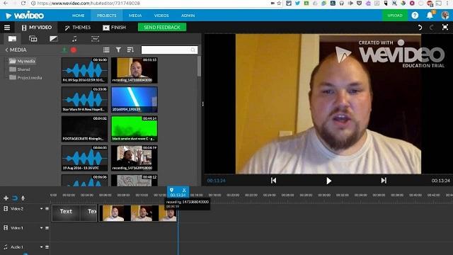 WeVideo Editor đây là trình cắt video rất ấn tượng
