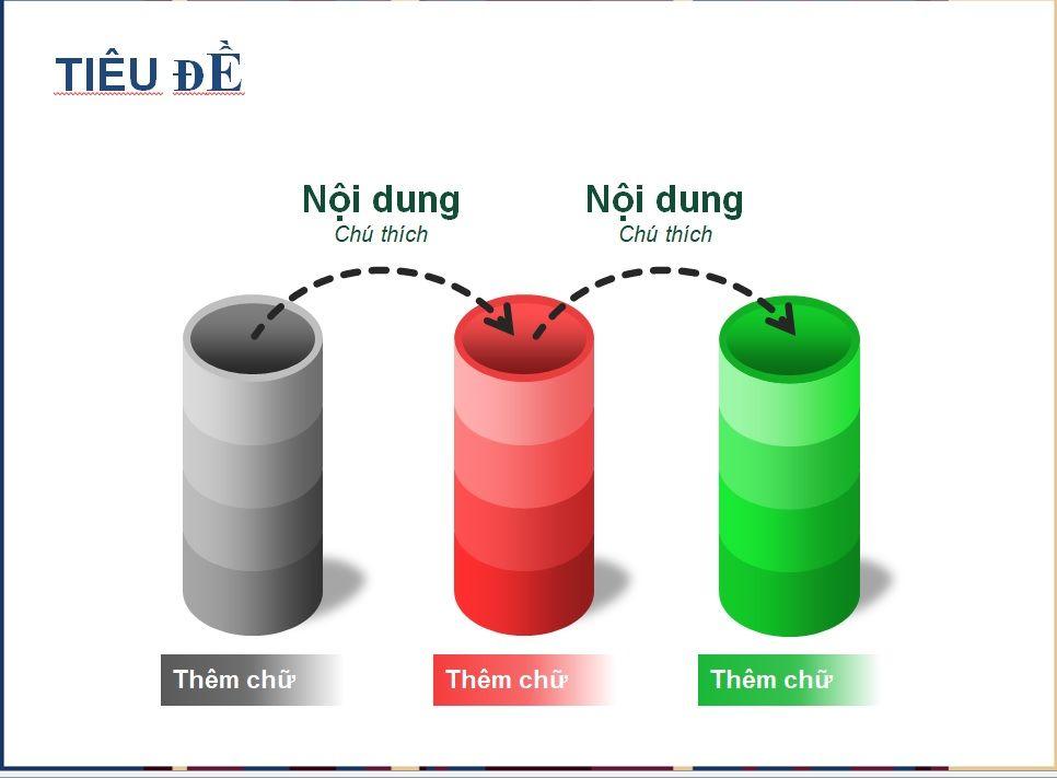 Sơ đồ khối - Mẫu slide PowerPoint