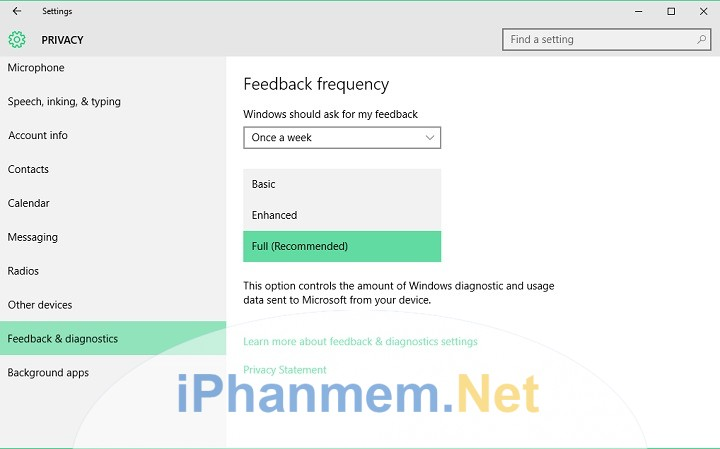 Sửa lỗi Managed By You Organisation trên Windows 10