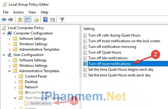 Chỉnh sửa Group Policy để fix lỗi Managed by Your Organisation