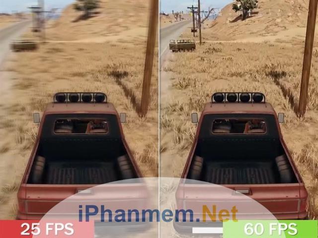 Độ phân giải FPS cao mang đến hình ảnh game chân thực và sống động
